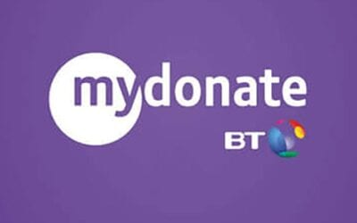 We now have a BT My Donate Page